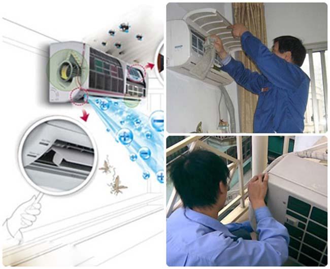 Dịch vụ vệ sinh bảo trì máy lạnh quận Bình Tân tận nơi giá rẻ