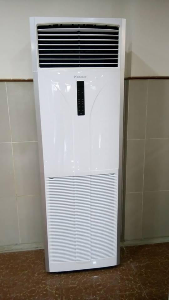 Máy lạnh cũ tủ đứng Panasonic 5hp—Giá: Call-094.9999.356