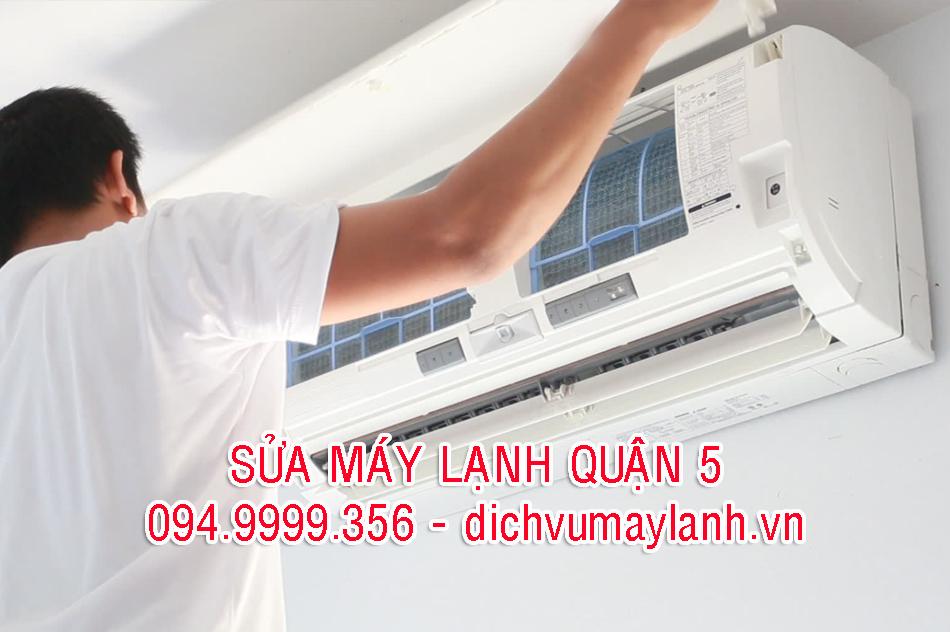 sửa máy lạnh quận 5 giá rẻ tại nhà