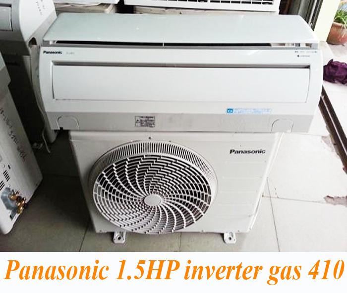 Máy lạnh cũ Panasonic Inverter 1.5 HP Gas 410