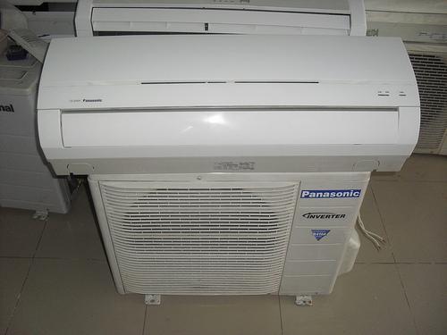 Máy lạnh cũ Panasonic Inverter 1HP Gas 410